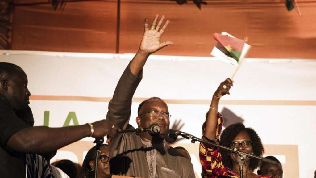 Marc Christian Kaboré ist neuer Präsident in Burkina Faso. Foto: Roch Marc Christian Kabore