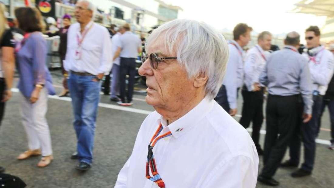 Chefvermarkter der Formel 1: Bernie Ecclestone. Foto: Srdjan Suki
