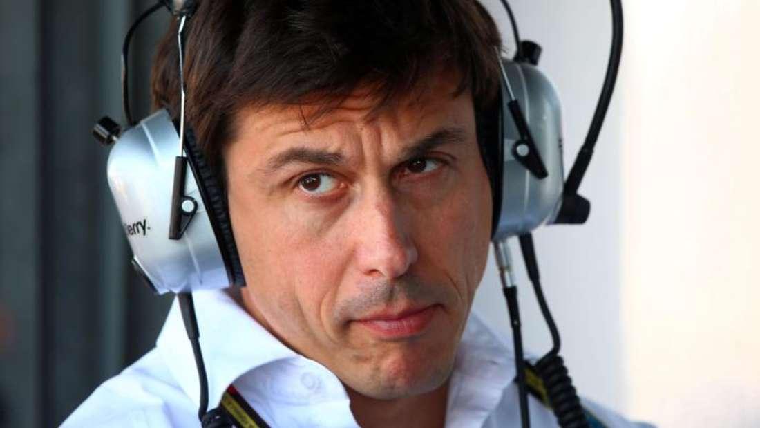 Mercedes-Motorsportchef Toto Wolff. Foto: Jens Büttner