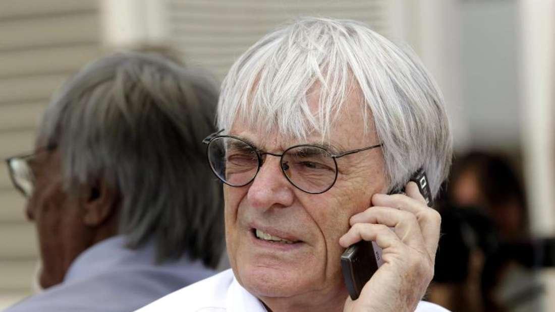 Bernie Ecclestone, Formel 1, Deutschland, Rennen, Nürburgring