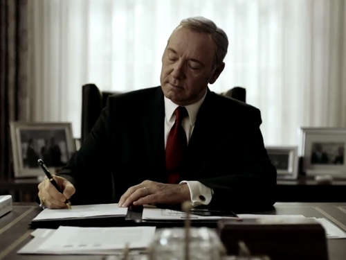 "Netflix verrät ""House of Cards""-Staffelstart"