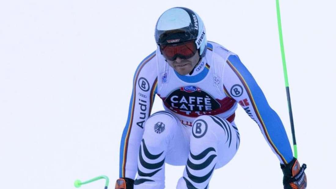 Andreas Sander wurde Zehnter bei der Abfahrt von Santa Caterina. Foto: Andrea Solero