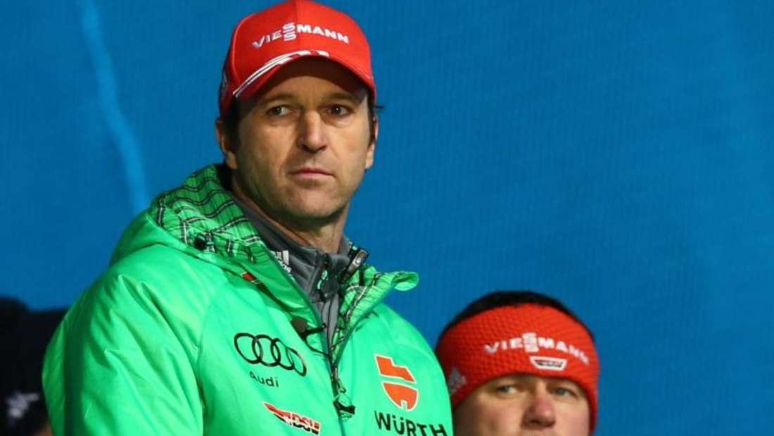 Werner Schuster war nach dem Auftaktsieg stolz. Foto: Daniel Karmann