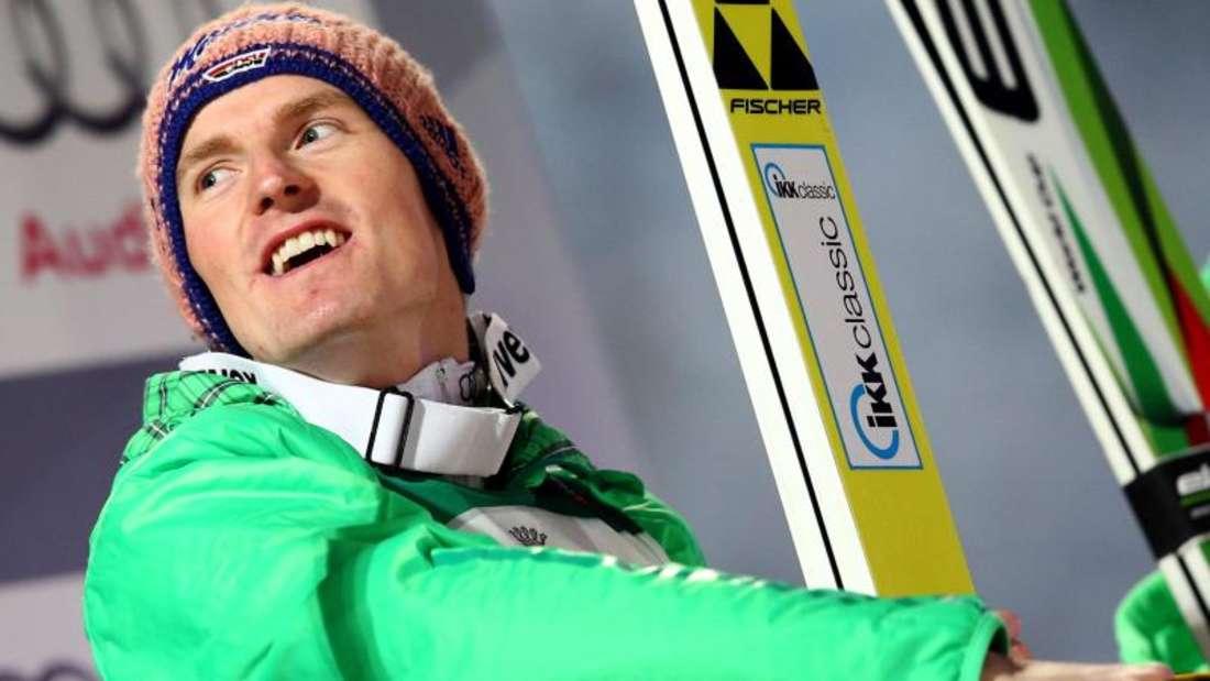 Severin Freund will bei der Vierschanzen-Tournee weiter Druck machen. Foto: Daniel Karmann