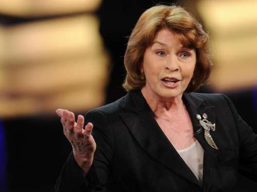 Senta Berger kennt Stimmungstiefs