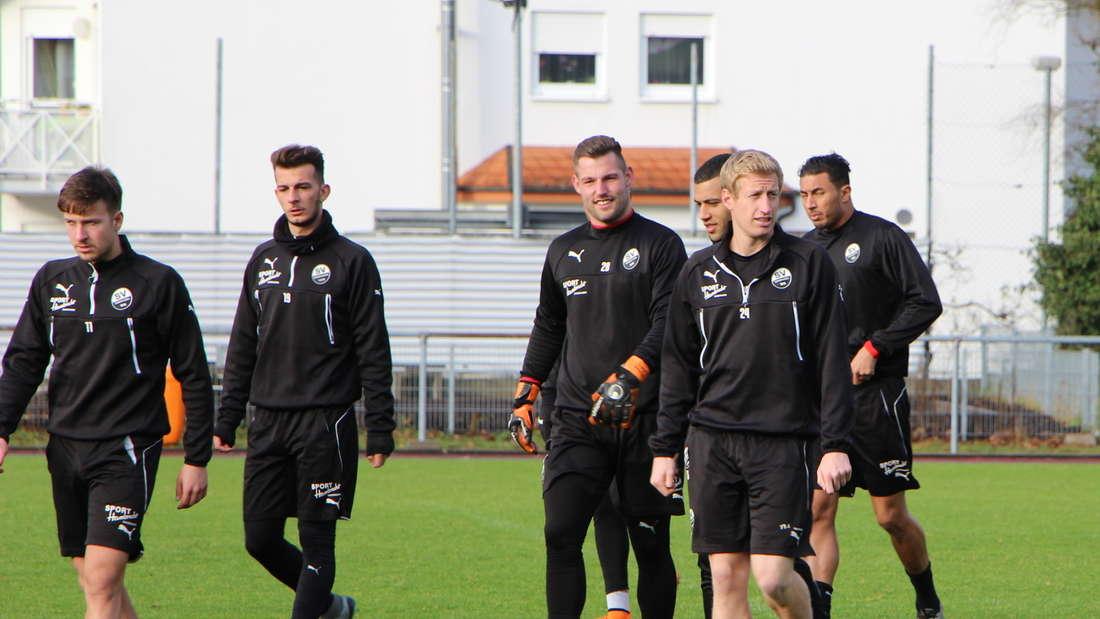 Trainingsauftakt beim SV Sandhausen.