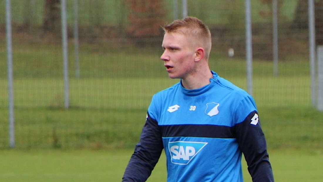 Philipp Ochs spielt seit dieser Saison in der ersten Mannschaft der TSG.