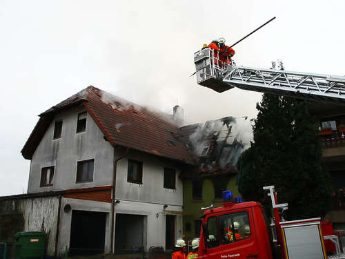 Sinsheim: Haus in Flammen!
