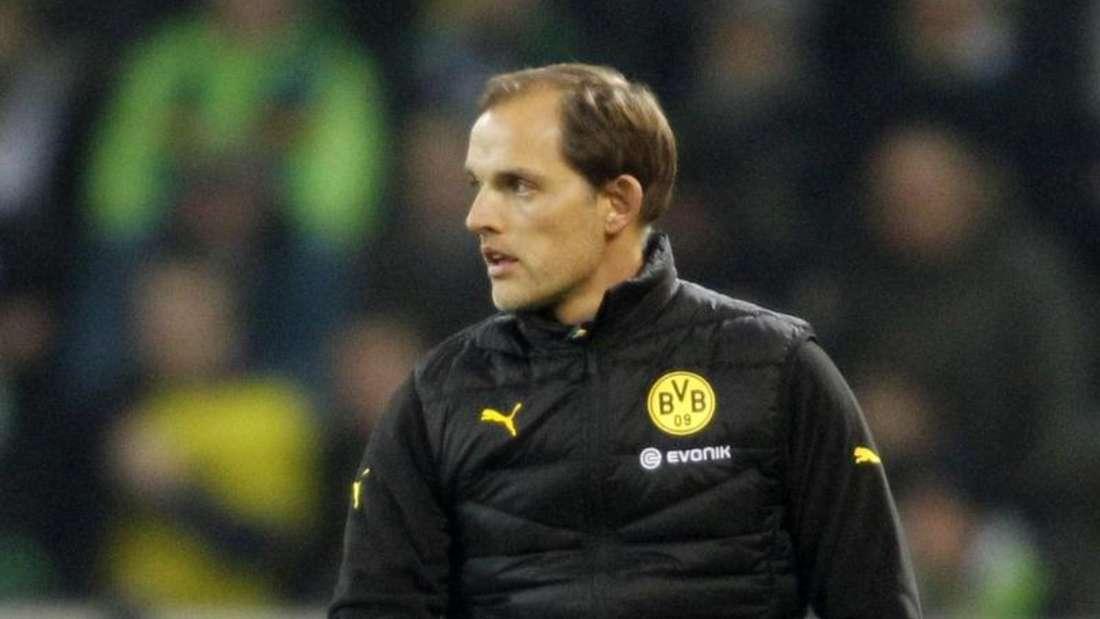 Thomas Tuchel sieht dem Ende der Transferperiode gelassen entgegen. Foto: Roland Weihrauch