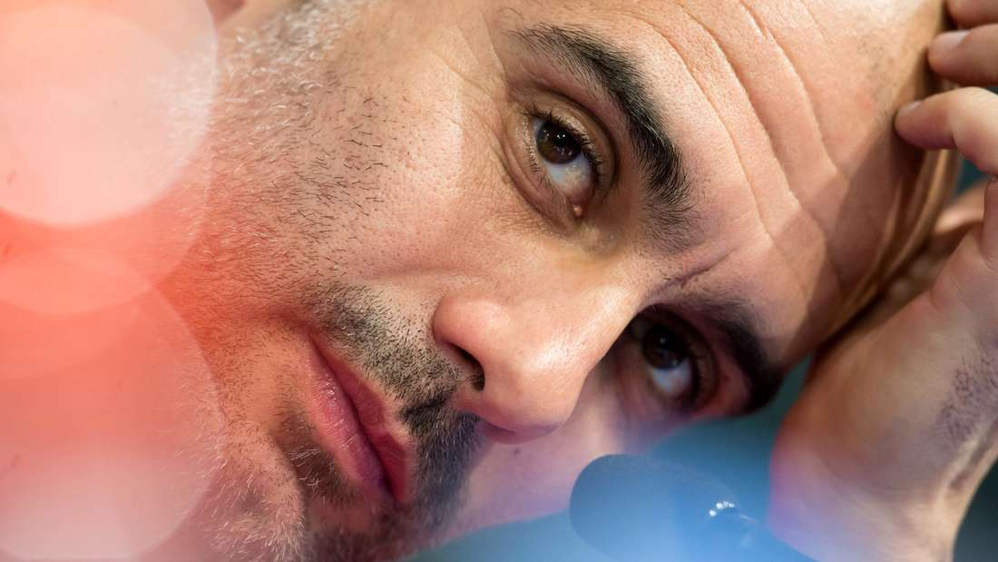 Pep Guardiola glaubt, die Stimmung beim FC Bayern sei gut
