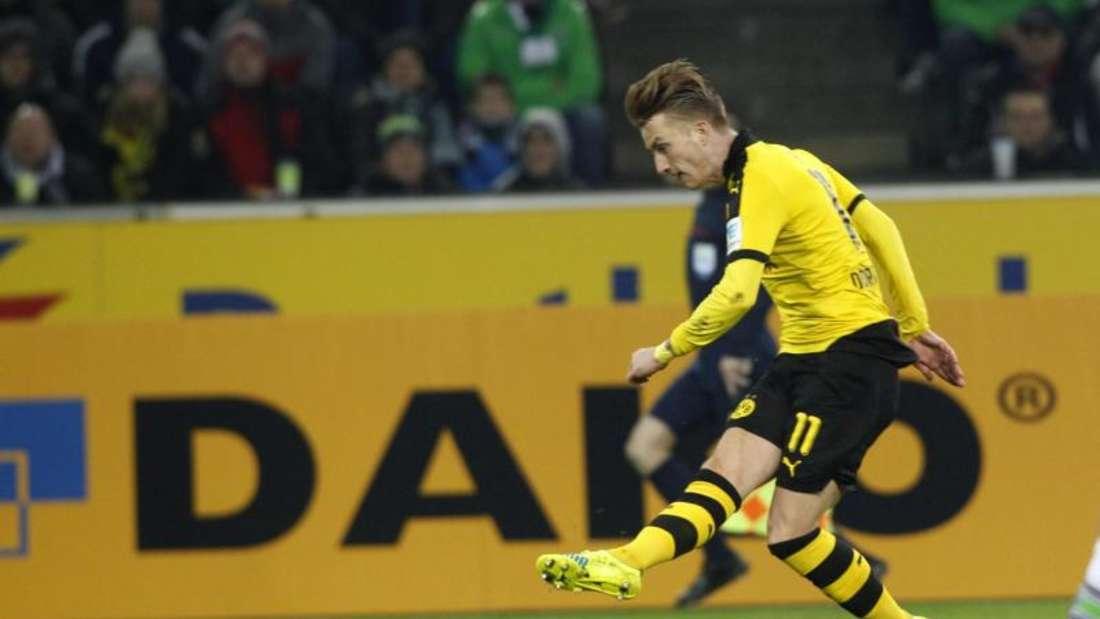 Der Dortmunder Marco Reus wird derzeit von einem Infekt geplagt. Foto: Roland Weihrauch