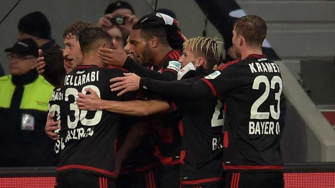 Bayer Leverkusen feierte einen souveränen Sieg gegen Hannover 96. Foto: Federico Gambarini