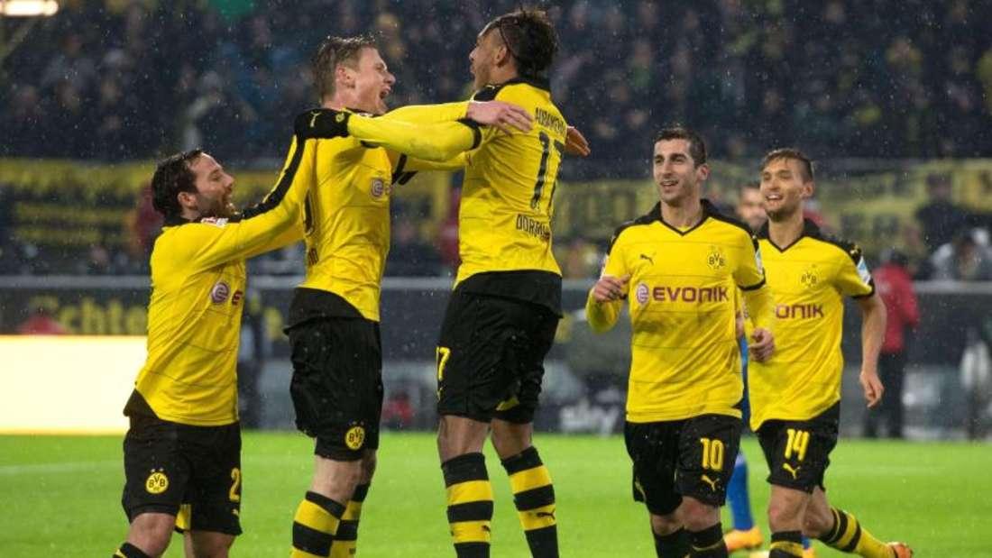 Der BVB entschied die Partie gegen Ingolstadt erst in der Schlussphase. Foto: Bernd Thissen