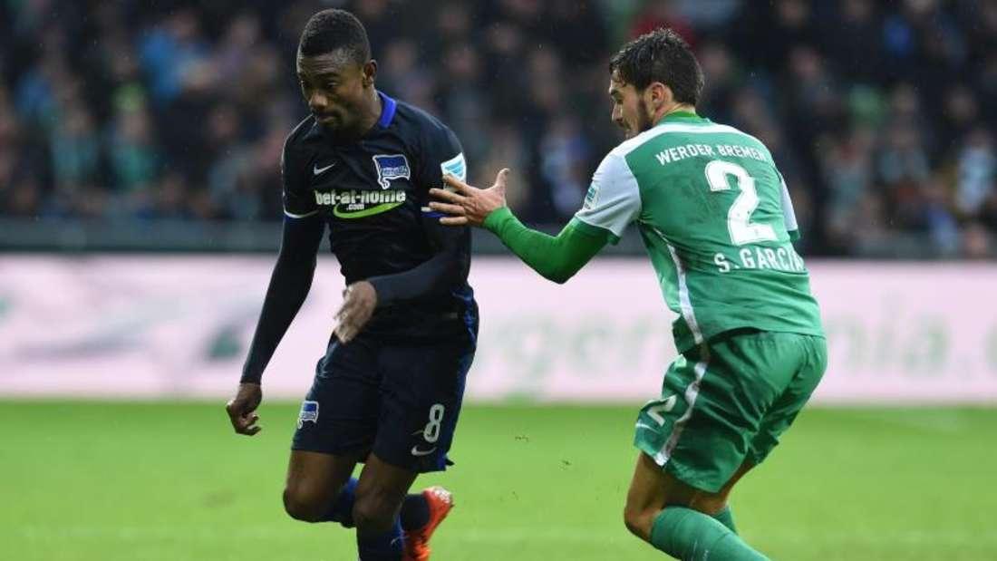 Werder Bremen erkämpft sich im Heimspiel gegen Hertha BSC ein 3:3-Unentschieden. Foto: Carmen Jaspersen