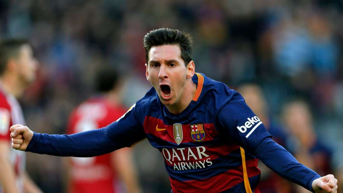 Lionel Messi traf gegen Atletico.
