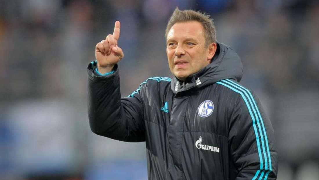 André Breitenreiter musste in den vergangenen Tagen viel Kritik einstecken. Foto: Fredrik von Erichsen