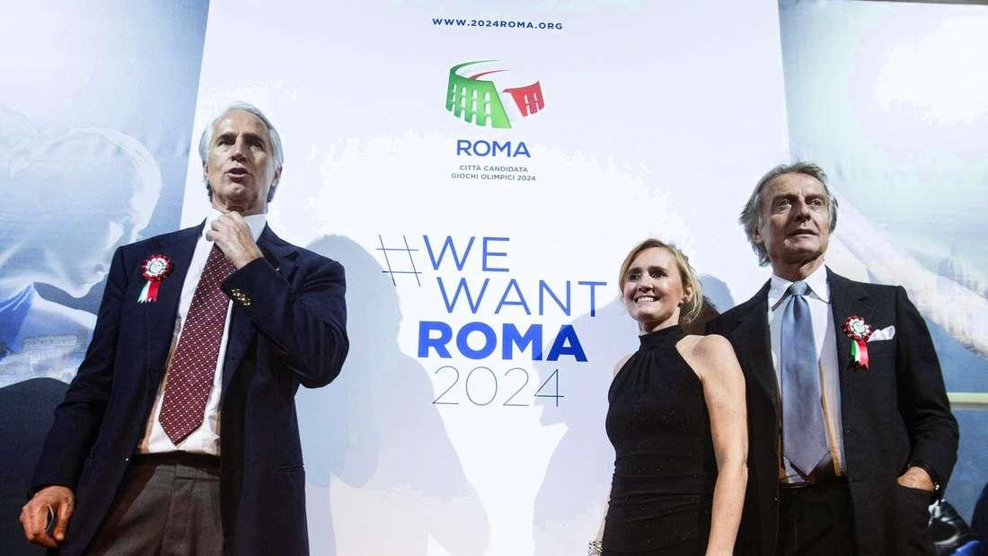 Rom bewirbt sich für die Olympischen Sommerspiele 2024.