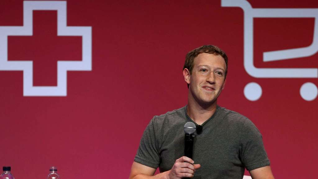 Mark Zuckerberg beim Mobile World Congress.