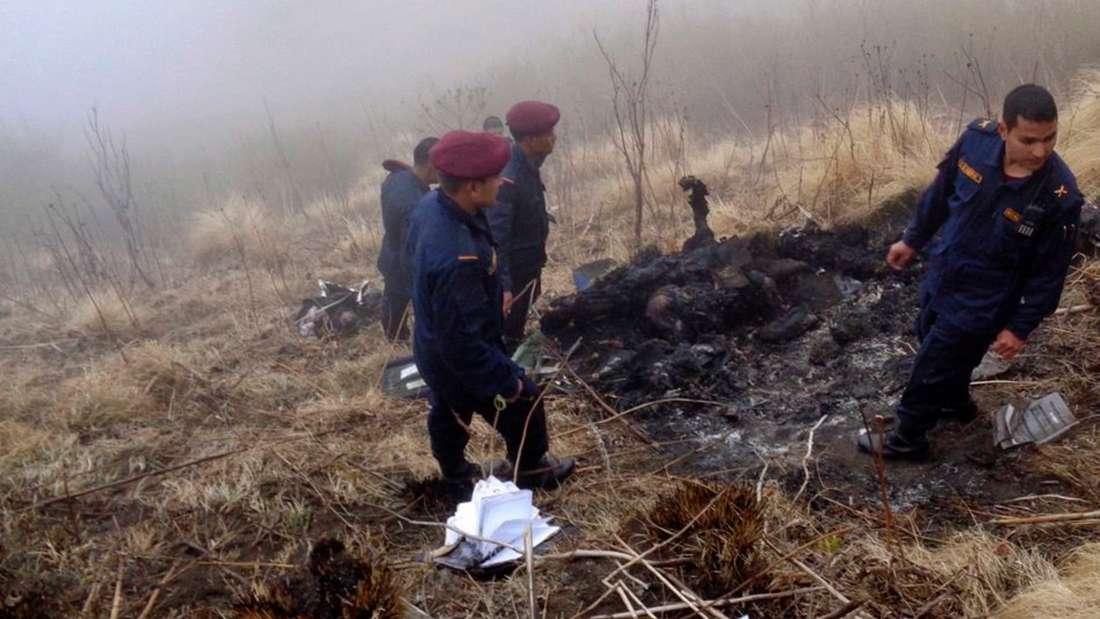 Flugzeugabsturz Nepal