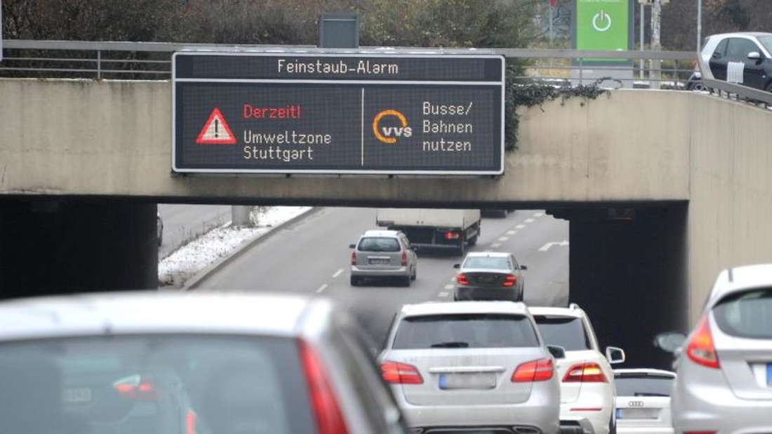 Stuttgart löst erneut Feinstaubalarm aus. Foto: Bernd Weißbrod/Illustration