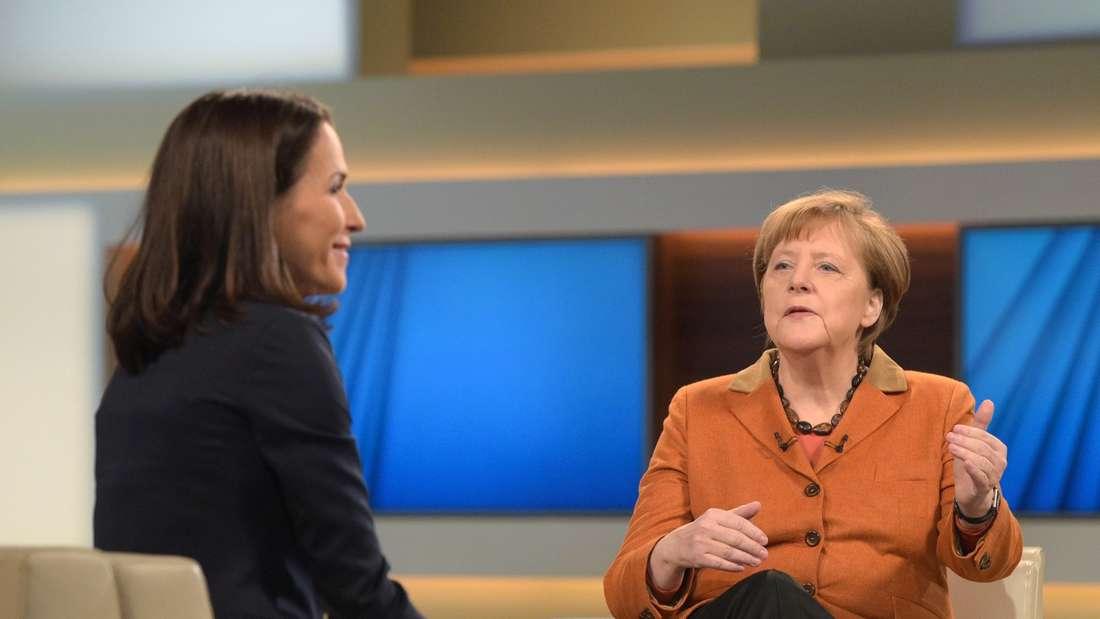 """Kanzlerin Angela Merkel hat sich bei """"Anne Will"""" zu vielen Themen bezüglich der Flüchtlingskrise geäußert."""