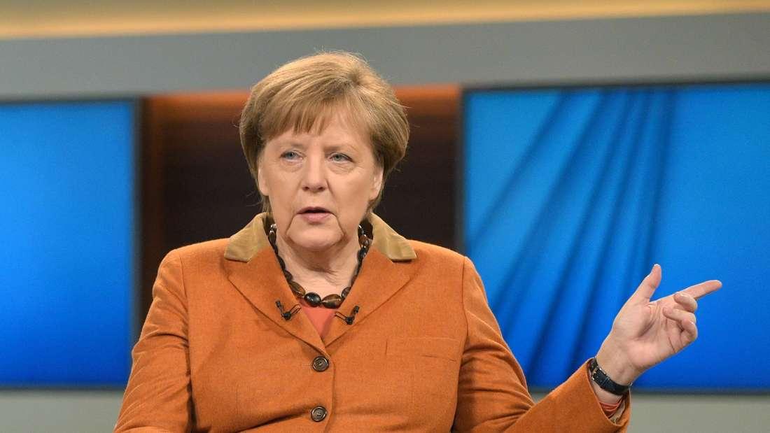 """Angela Merkels Auftritt bei """"Anne Will"""" hat gemischte Reaktionen hervorgerufen."""