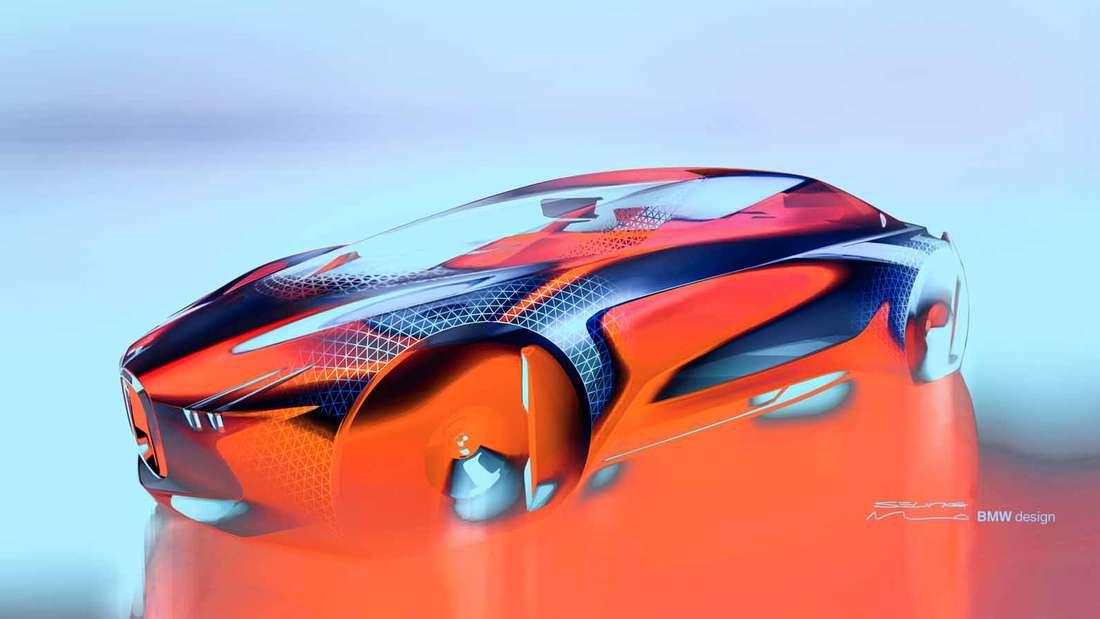 Eine Alive Geometry schafft die Interaktion zwischen Fahrer und Fahrzeug, die Fahrmodi Boost und Ease ermöglichen sowohl Selbst- als auch pilotiertes Fahren und verändern den Innenraum des Autos.