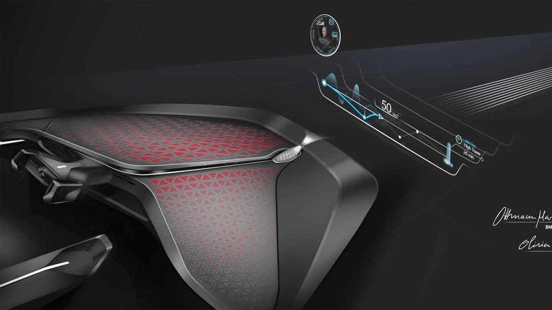 Greifbar wird dieser Blick in die Zukunft mit dem Visionsfahrzeug BMW VISION NEXT 100.