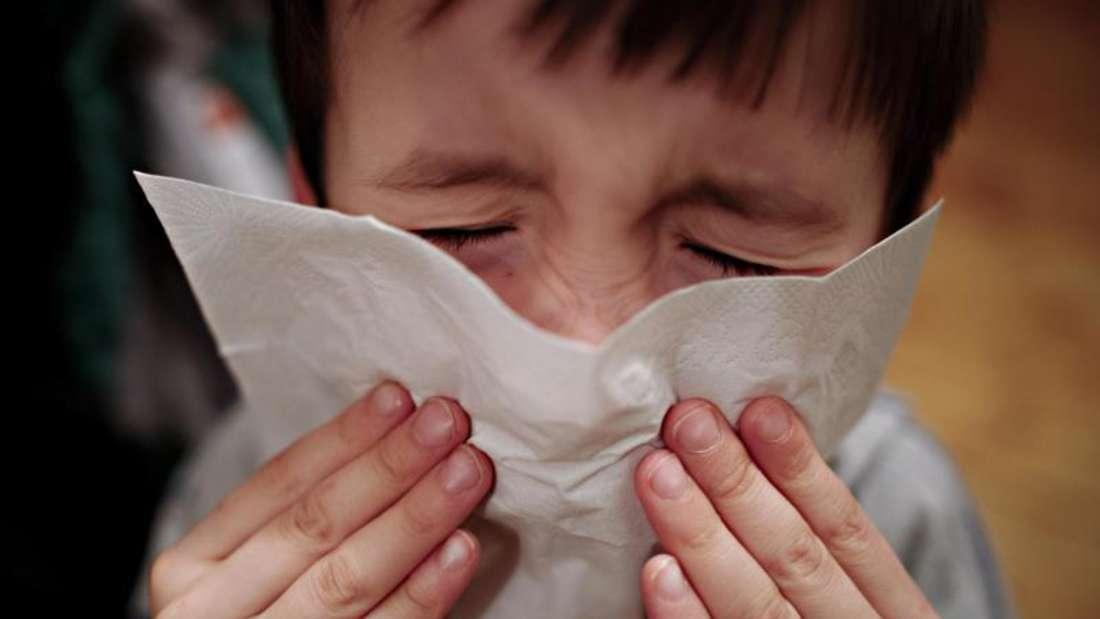 Vor allem Schulkinder sind derzeit von der Grippewelle betroffen. Foto: Nicolas Armer/Illustration