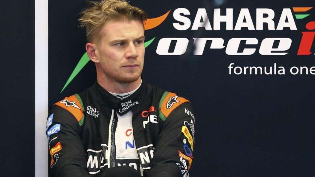 Nico Hülkenberg will sich mit seinem Force India «auf das Podium zu pushen». Foto: Srdjan Suki