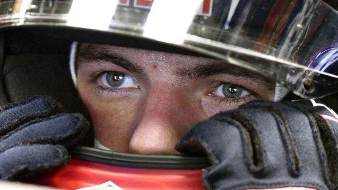 Max Verstappen von Toro Rosso fährt mit 18 Jahren schon die zweite Saison in der Königklasse. Foto: Franck Robichon