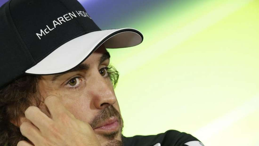 Fernando Alonso will mit McLaren Honda zumindest konstant in die Punkte fahren. Foto: Ali Haider
