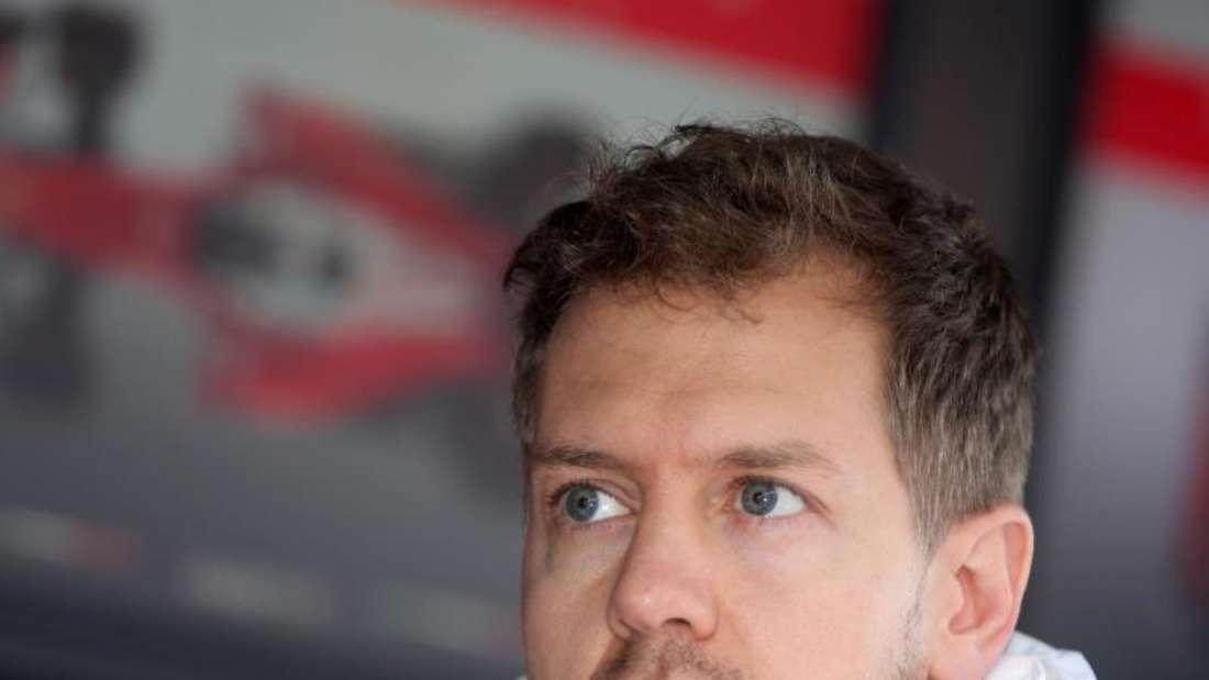 Ferrari-Pilot Sebastian Vettel will die Dominanz der Silberpfeile beenden. Foto: Jens Büttner