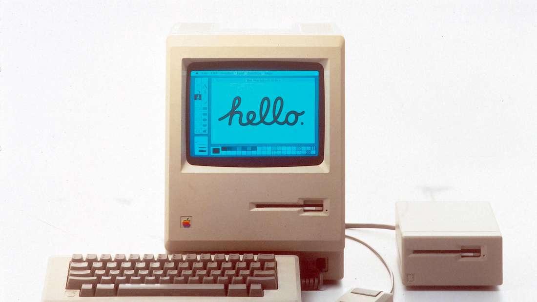 Apple hat in den vergangenen vier Jahrzehnten immer wieder die Richtung in der Computer-Branche vorgegeben. Bilder aus der 40-jährigen Geschichte