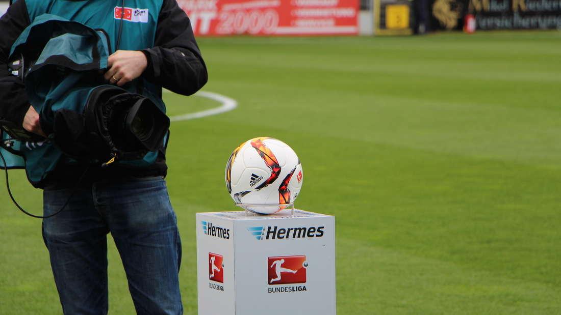 Trikot-Lotto-Gewinner Robin (9) und sein großer Auftritt beim SVS-Heimspiel gegen Frankfurt.