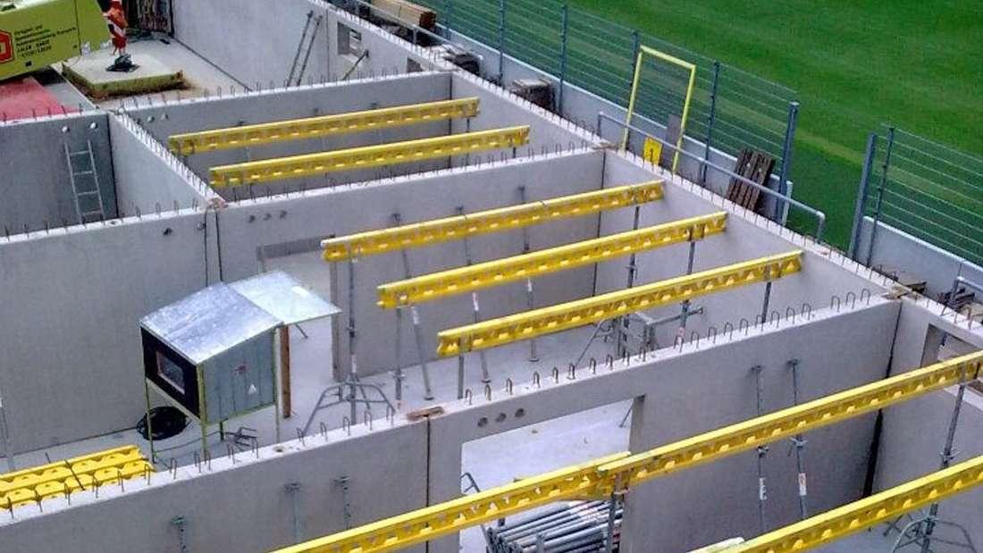 Wie sich das Hardtwaldstadion in den vergangenen Jahren verändert hat.