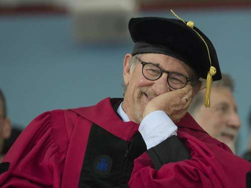 Steven Spielberg wünscht Harvard-Absolventen ein Happy End