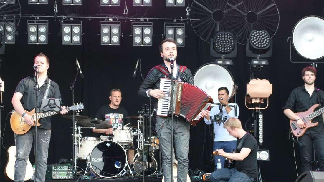 Ladenburger Musikfestival 2016 - Open Air! Mit Nena, Johannes Oerding, Laith Al-Deen und Jonathan Zelter