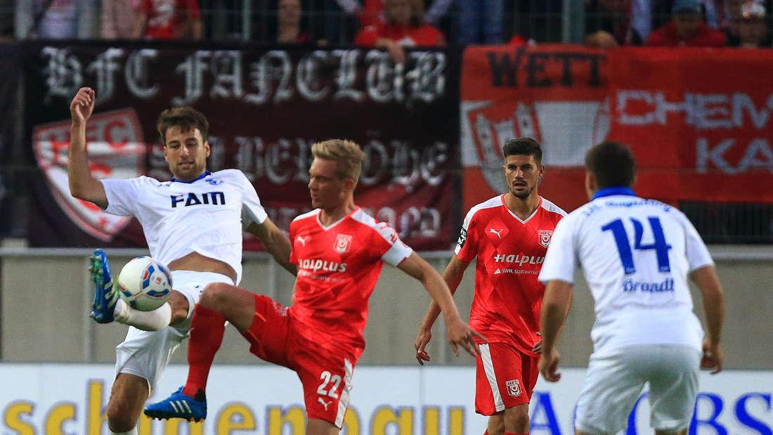 Maximilian Jansen trägt künftig das Trikot des SV Sandhausen.