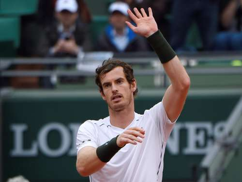 Andy Murray im Viertelfinale der French Open