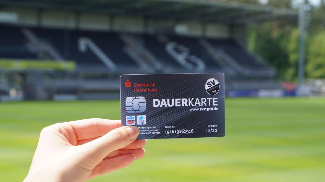 Die Dauerkarte für die Saison 2016/17.