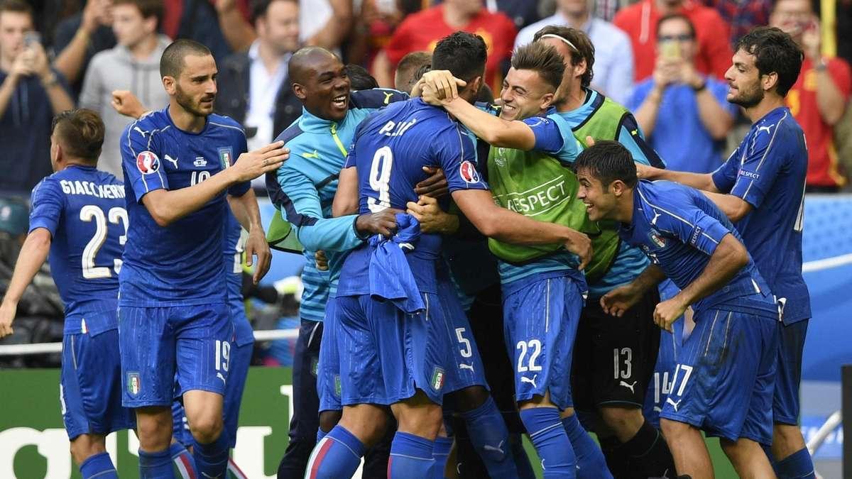 Italien Spanien Spielstand