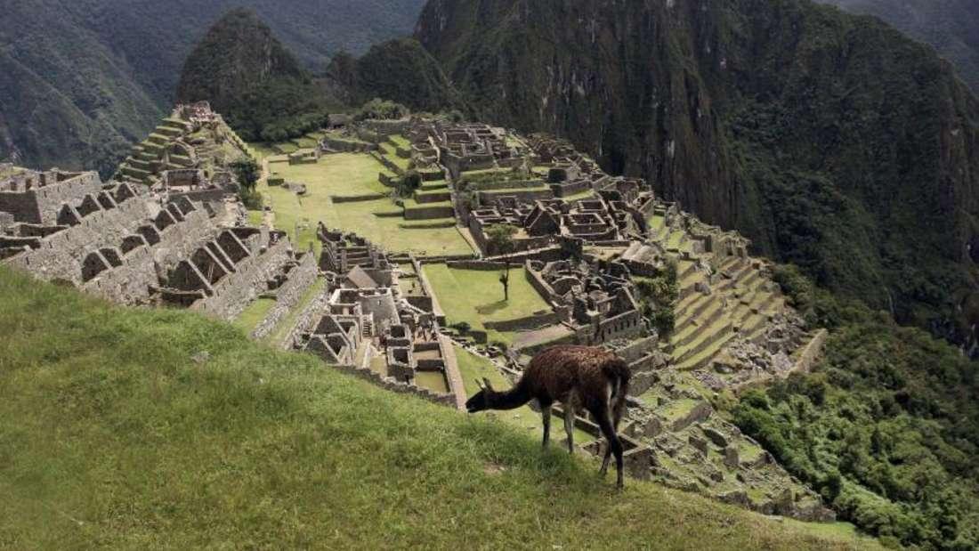 Machu Picchu ist eine der größten Touristenattraktionen Südamerikas. Foto: Paco Chuquiure