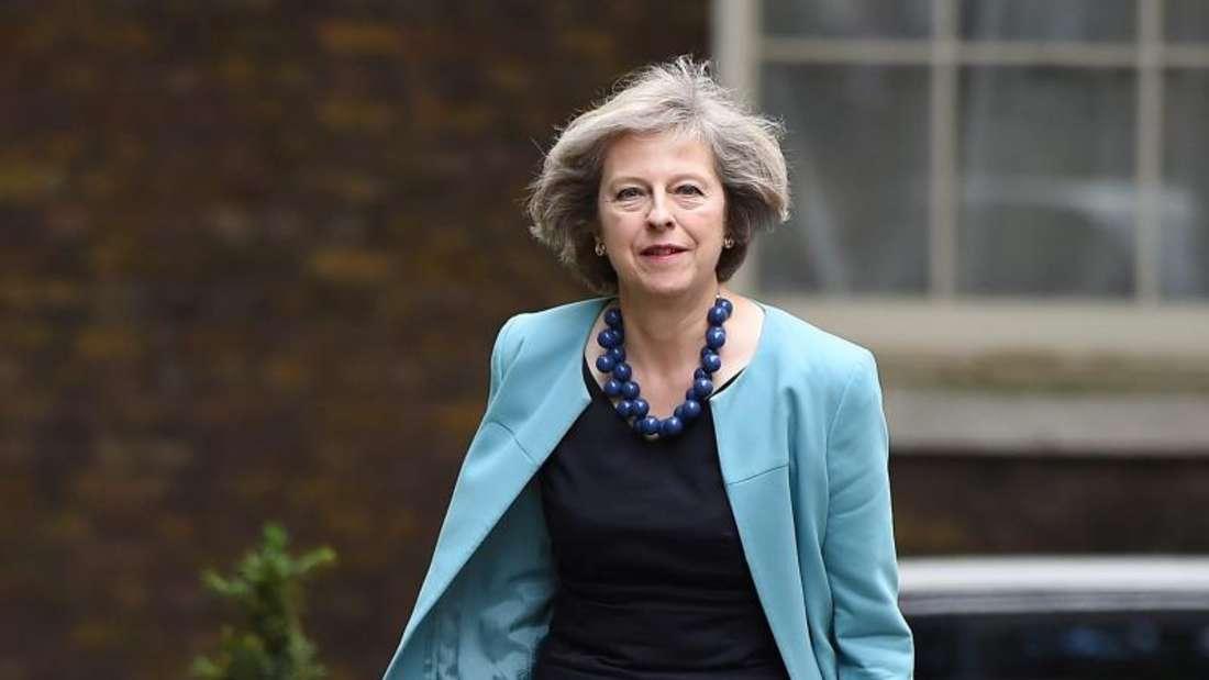 Dass Theresa May es an die Spitze der britischen Konservativen und damit des ganzen Landes schaffen kann, bezweifelt in Großbritannien kaum jemand. Foto: Andy Rain