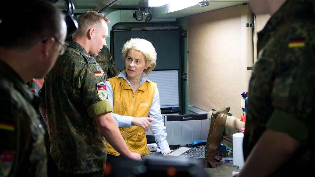 Von der Leyen will den Nato-Stützpunkt Incirlik besuchen.