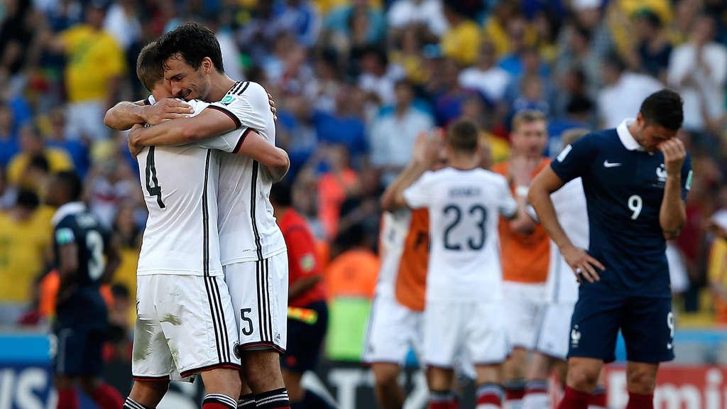 Em Deutschland Gegen Frankreich