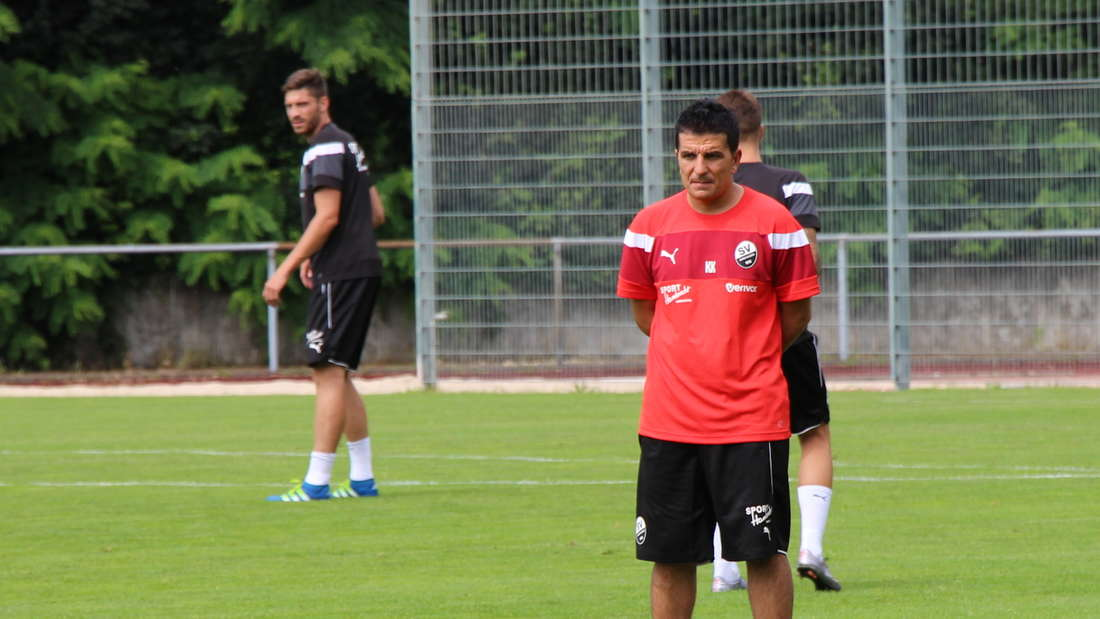 Kenan Kocak wird beim SV Sandhausen als neuer Trainer vorgestellt.