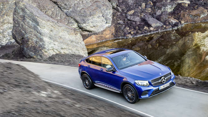 Die Vollendung: Mercedes GLC Coupé