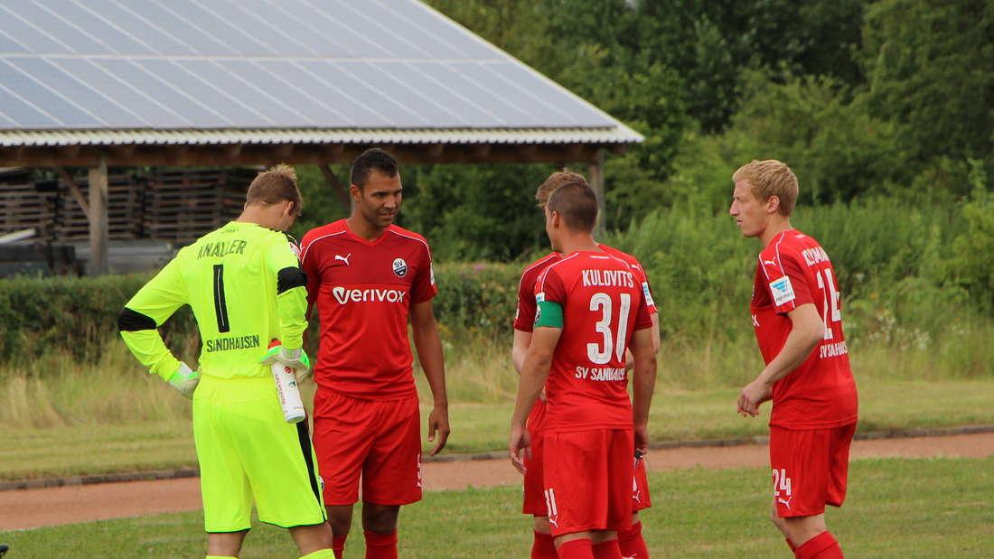 Testspiel zwischen dem SV Sandhausen und dem SC Hauenstein.