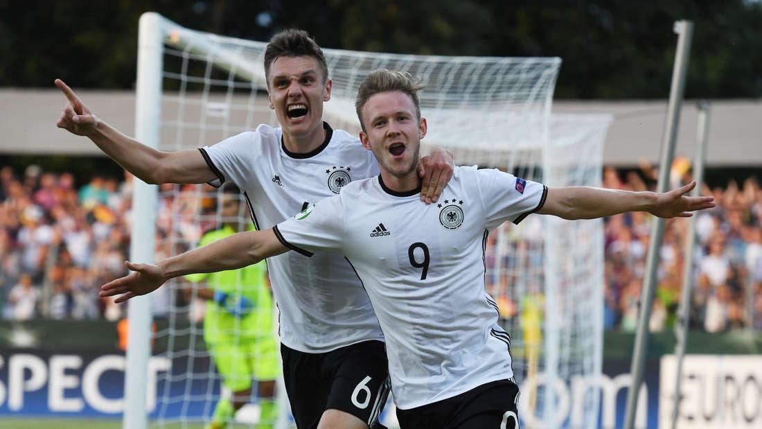 Fußball U19-EM Österreich - Deutschland